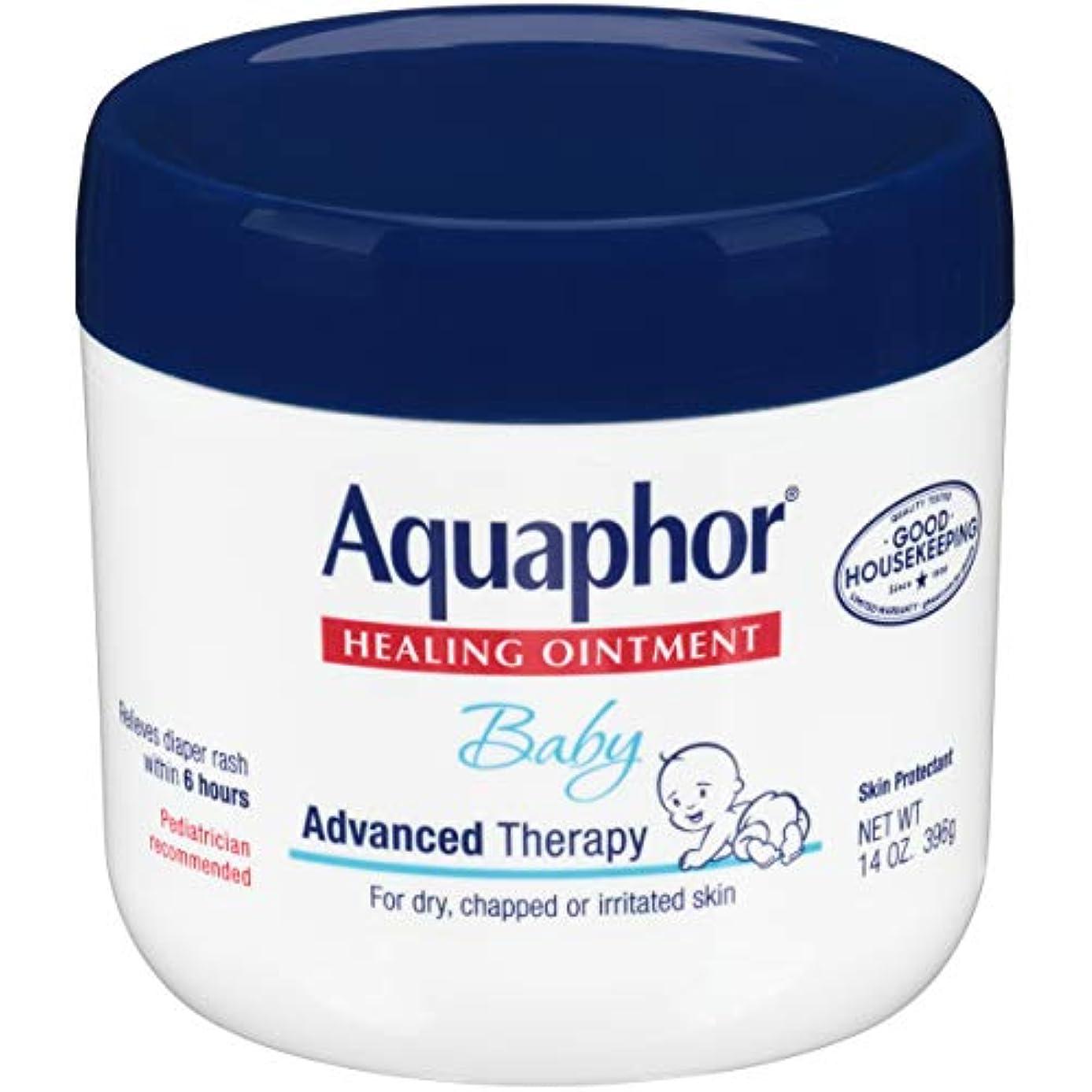 民族主義禁止するジャベスウィルソンAquaphor Baby Healing Ointment Advanced Therapy Skin Protectant