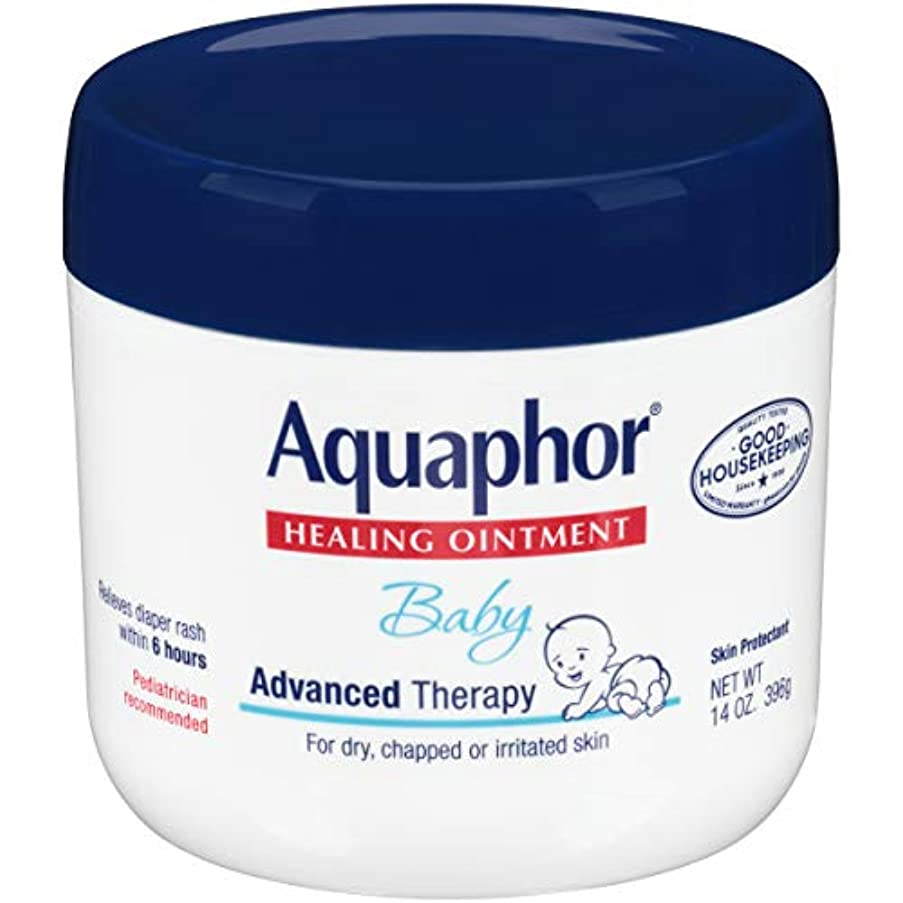 愛する取り消す刺繍Aquaphor Baby Healing Ointment Advanced Therapy Skin Protectant