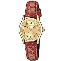 CASIO カシオ LTP-1094Q-9B ベーシック アナログ ゴールドダイアル レディースウォッチ 腕時計 [並行輸入品]