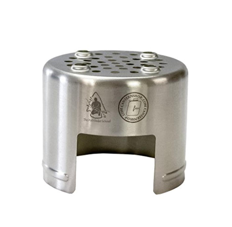 救出お父さん衝動PATHFINDER (パスファインダー) Stainless Steel Bottle Stove ステンレス ボトル ストーブ ウッドストーブ 焚き火 サバイバル ブッシュクラフト アウトドア キャンプ 野営 キャンティーン ネイチャーストーブ 焚火