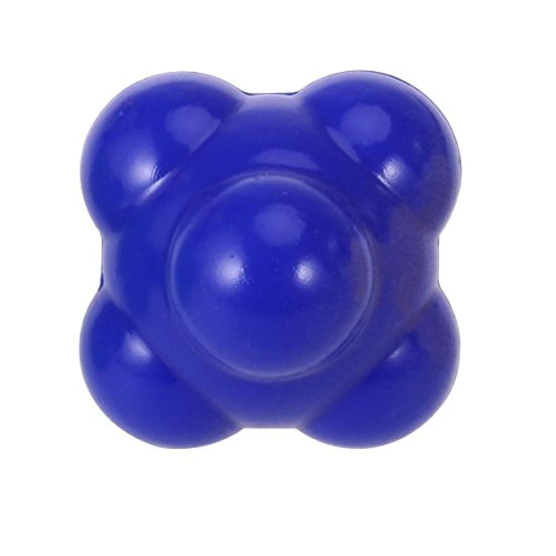 引き付ける効能ある美容師ROSENICE 敏捷性ボール58mm優れたハンドアイ配位の開発(ブルー)