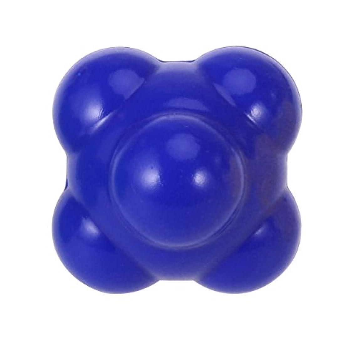 シビック振動する可塑性ROSENICE 敏捷性ボール58mm優れたハンドアイ配位の開発(ブルー)
