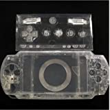 Linyuan 安定した品質 Clear Crystal Housing Faceplate Case Cover for PlayStation Portable PSP1000