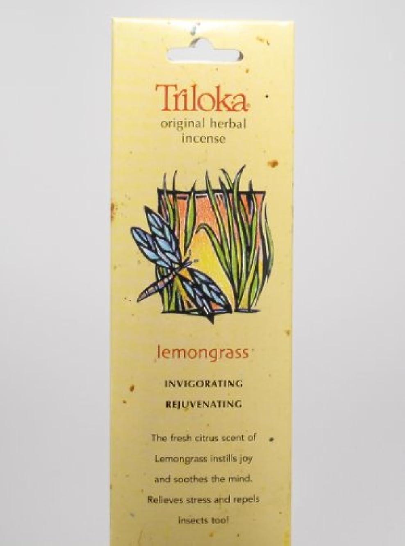 ダイヤル後ろ、背後、背面(部グローバルレモングラス – Triloka元Herbal Incense Sticks