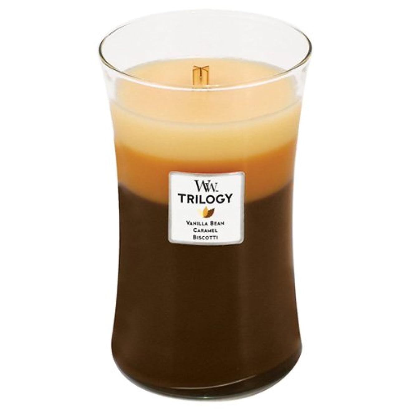 列挙する等々。WoodWick Large Cafe Sweets Trilogy Candle