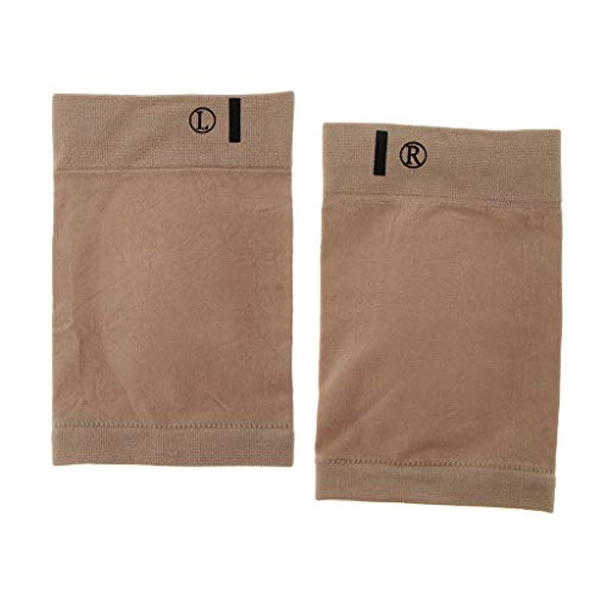 冷蔵する藤色政治sharprepublic 1ペアシリカゲル包帯フットケアパッドフラットフィートハイアーチフットインソールパッド