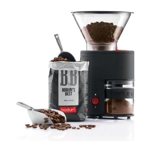 bodum BISTRO 電気式コーヒーグラインダー ブラック 10903-01JP