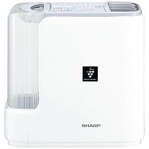 シャープ 加湿器 プラズマクラスター搭載 ハイブリッド式 レギュラータイプ ホワイト HV-F50-W