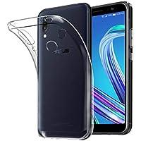 ASUS ZenFone Max Pro (M1) (ZB602KL) ケース QICASE ASUS ZenFone Max Pro (M1) (ZB602KL) ソフトカバー 透明 TPU 耐衝撃 落下防止 防指紋 全面保護カバー(ASUS ZenFone Max Pro (M1) (ZB602KL) ケース クリア)