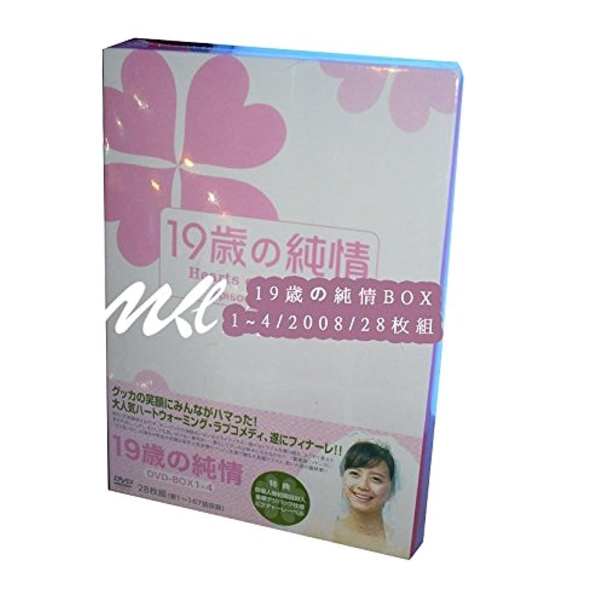 歌う厳密に貫入19歳の純情 BOX 1~4 2008