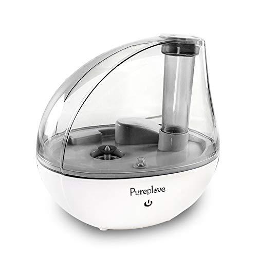 Pureplove 加湿器 卓上 卓上加湿器 超音波加湿器 しずく型 しずく 加湿器 オフィス 寝室用 LEDライト 静音 ...