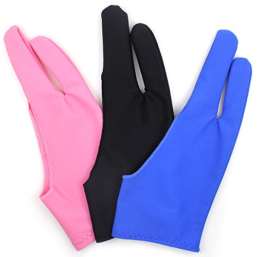 FineGood 手袋 グローブ ペンタブレットや液晶タブレット用 書き、画き専用 男女兼用 左右手...
