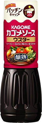 カゴメ 醸熟ソース ウスター(500mL)