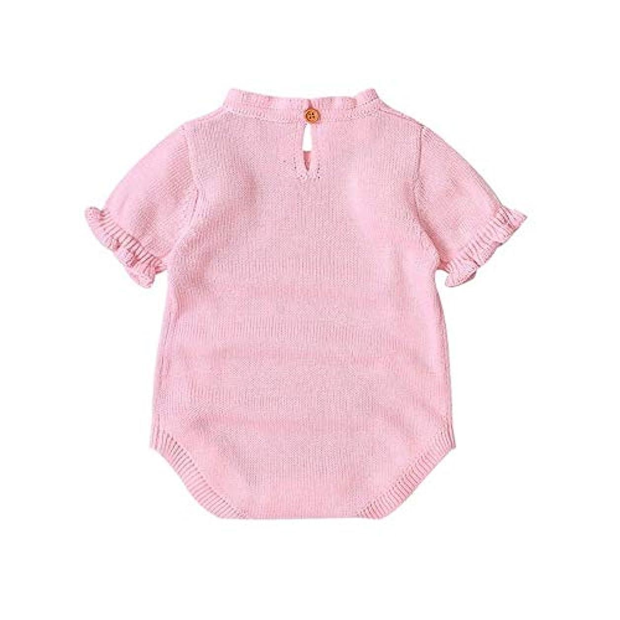 裸正気受け取るベビーロンパース冬暖かい長袖コーラルフリース新生児少年少女の服幼児スーツ動物全体のパジャマ (Color : 5 6, Kid Size : 6M)