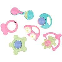 KESOTO 6個セット ベビー 子供 がらがら ラトル 玩具