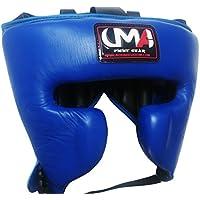 ボクシングヘッドギア – UMA r-9 – MMAムエタイ – Sparring保護ヘルメットRealレザー – ユニバーサルMartial Arts
