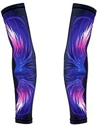 SunniMix アームカバー 腕カバー 冷感作用 吸汗速乾 滑り止め UPF50+ UV対策 日焼け止めカバー 紫外線対策 スポーツ活動用 全4色5サイズ