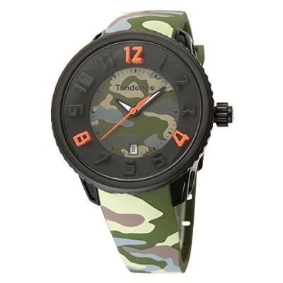 [テンデンス]Tendence 腕時計 ミディアムガリバー グリーン カモフラージュ クォーツ ユニセックス T0930026  【並行輸入品】