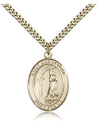 ローマの聖Zoe Medals – ゴールドメッキローマの聖ZoeペンダントIncluding 24インチネックレス