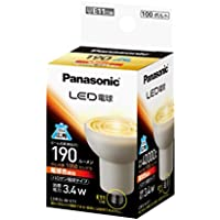 パナソニック LED電球 E11口金 電球色相当(3.4W) ハロゲン電球タイプ LDR3LWE11