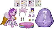 My Little Pony: A New GenerationMovie Crystal Adventure Princess Petals- 3-Inch Pink Pony Toy, Surprise Acce