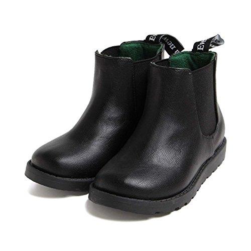BREEZE(ブリーズ) サイドゴアブーツ ブラック 19cm 子供服