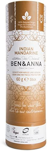 Ben & Anna Indian Mandarin - Deodorant 60g, 60 g