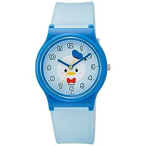 [シチズン キューアンドキュー]CITIZEN Q&Q 腕時計 Disney コレクション 『 TSUMTSUM 』 『 ドナルドダック 』 ウレタンベルト ブルー HW00-003 ガールズ