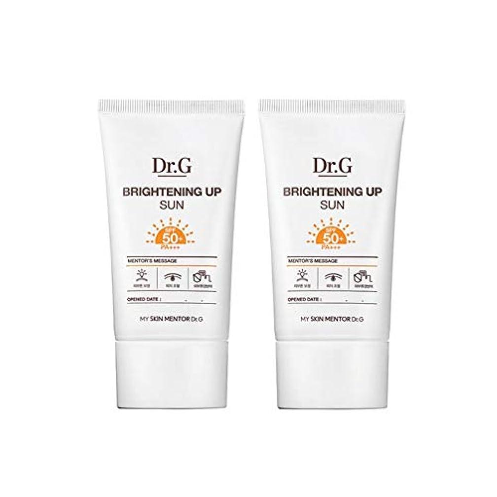 つまずく恐れ謝罪ドクターGブライトニングアップサンSPF50+ PA+++50ml x2本セットサンクリーム、Dr.G Brightening Up Sun SPF50+ PA+++ 50ml x 2ea Set Sun Cream [...
