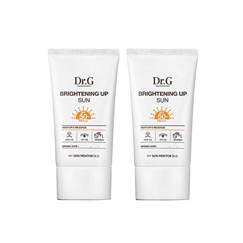る受動的ドクターGブライトニングアップサンSPF50+ PA+++50ml x2本セットサンクリーム、Dr.G Brightening Up Sun SPF50+ PA+++ 50ml x 2ea Set Sun Cream [...