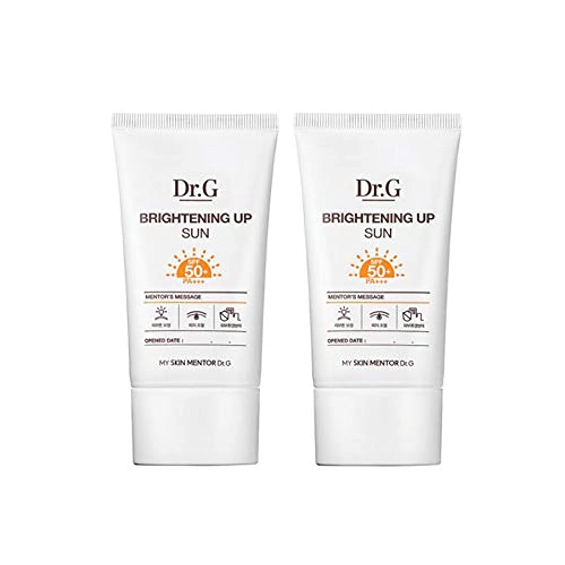 スロー臨検潮ドクターGブライトニングアップサンSPF50+ PA+++50ml x2本セットサンクリーム、Dr.G Brightening Up Sun SPF50+ PA+++ 50ml x 2ea Set Sun Cream [...