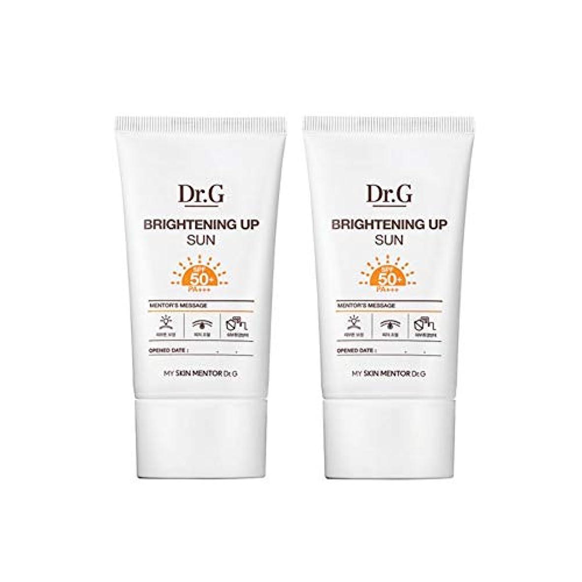援助有能な組み込むドクターGブライトニングアップサンSPF50+ PA+++50ml x2本セットサンクリーム、Dr.G Brightening Up Sun SPF50+ PA+++ 50ml x 2ea Set Sun Cream [...