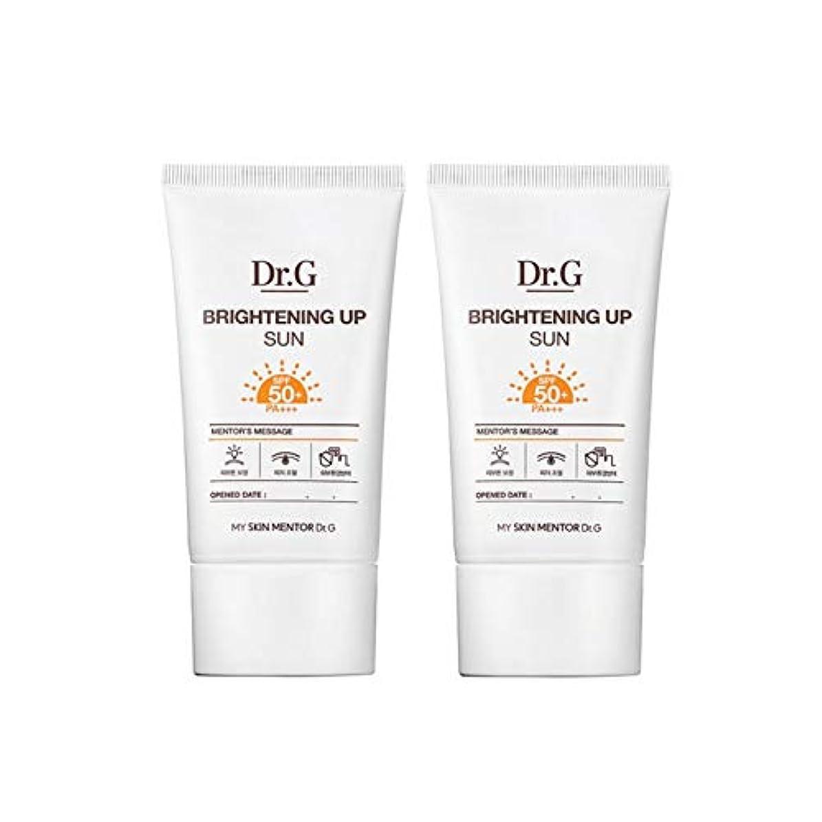 鉄道駅時間鋼ドクターGブライトニングアップサンSPF50+ PA+++50ml x2本セットサンクリーム、Dr.G Brightening Up Sun SPF50+ PA+++ 50ml x 2ea Set Sun Cream [並行輸入品]