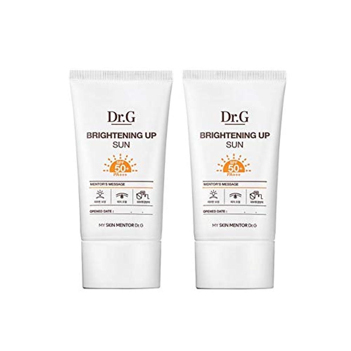 不正火薬使役ドクターGブライトニングアップサンSPF50+ PA+++50ml x2本セットサンクリーム、Dr.G Brightening Up Sun SPF50+ PA+++ 50ml x 2ea Set Sun Cream [...