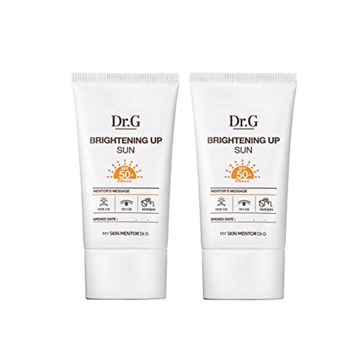 発見する約束する時代遅れドクターGブライトニングアップサンSPF50+ PA+++50ml x2本セットサンクリーム、Dr.G Brightening Up Sun SPF50+ PA+++ 50ml x 2ea Set Sun Cream [...