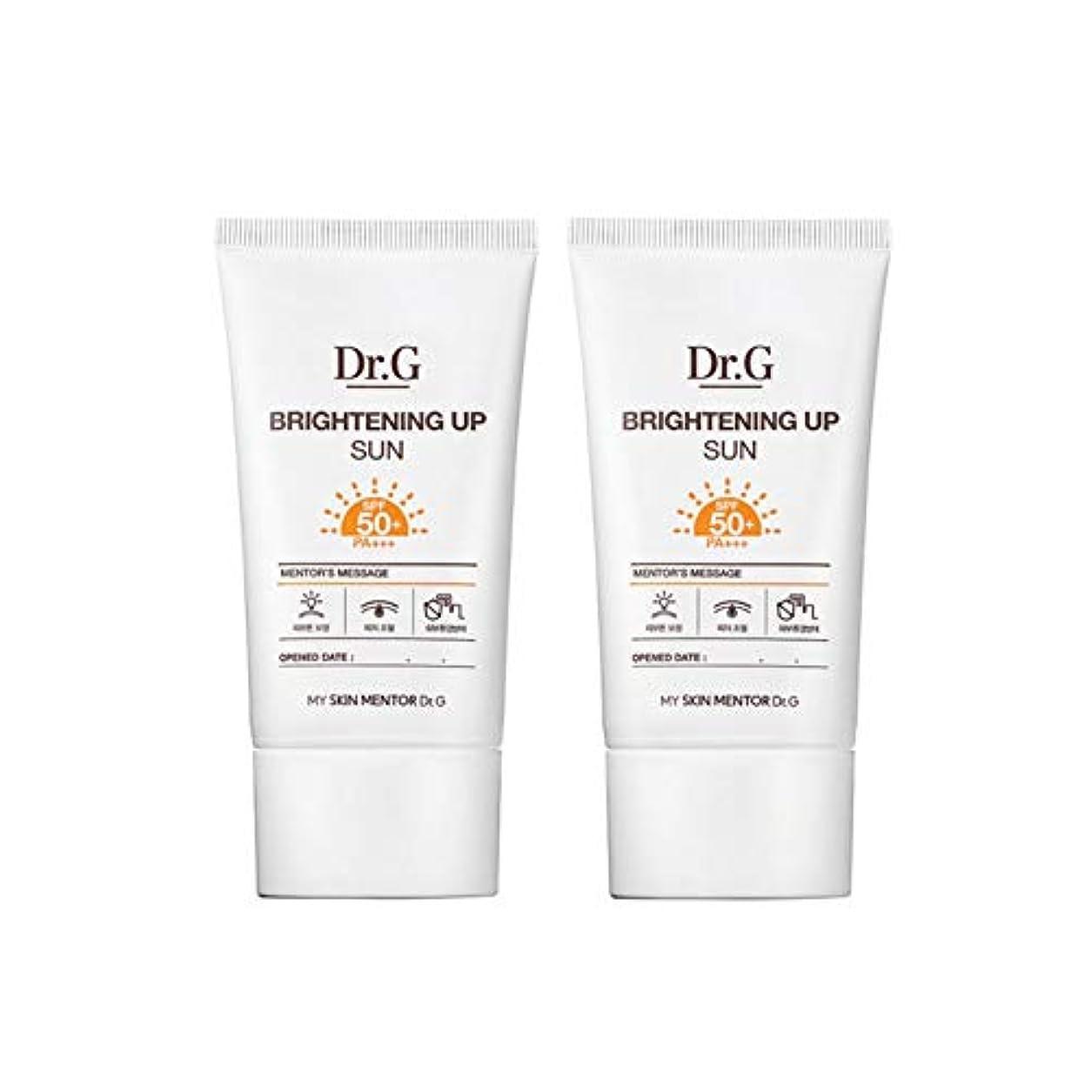 たまにノベルティ儀式ドクターGブライトニングアップサンSPF50+ PA+++50ml x2本セットサンクリーム、Dr.G Brightening Up Sun SPF50+ PA+++ 50ml x 2ea Set Sun Cream [並行輸入品]