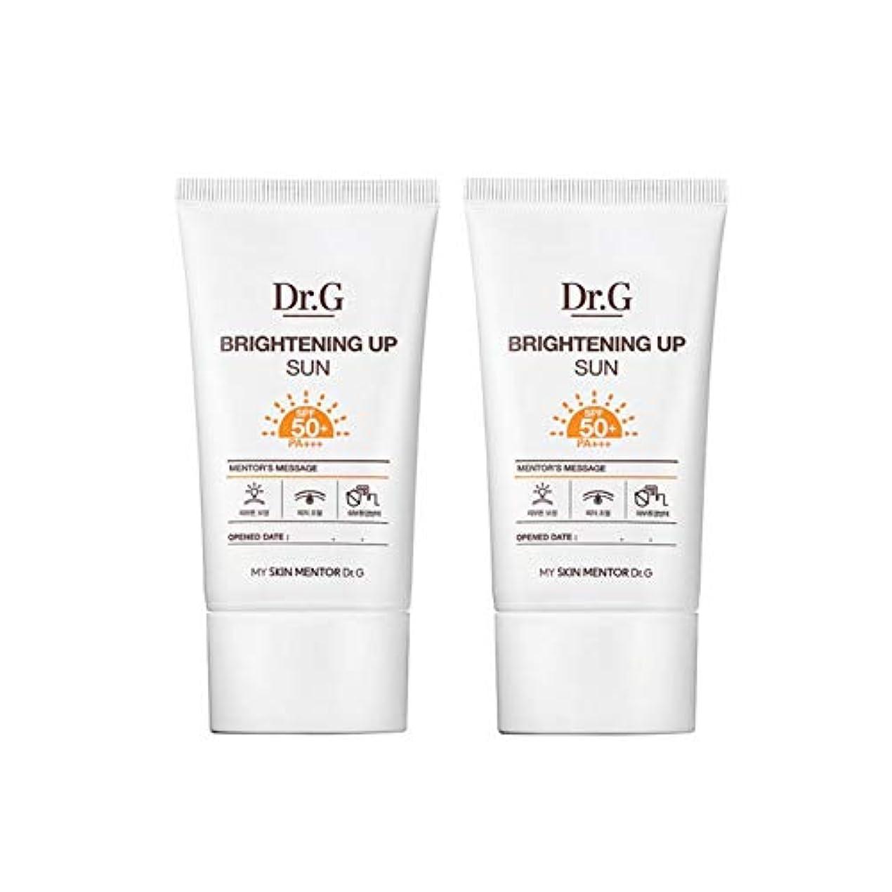 レディヒューマニスティック建設ドクターGブライトニングアップサンSPF50+ PA+++50ml x2本セットサンクリーム、Dr.G Brightening Up Sun SPF50+ PA+++ 50ml x 2ea Set Sun Cream [...