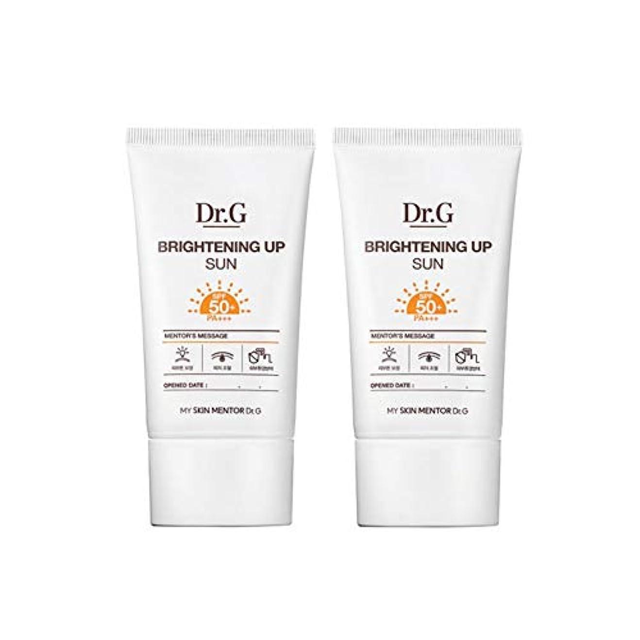 一時解雇する習慣復讐ドクターGブライトニングアップサンSPF50+ PA+++50ml x2本セットサンクリーム、Dr.G Brightening Up Sun SPF50+ PA+++ 50ml x 2ea Set Sun Cream [...