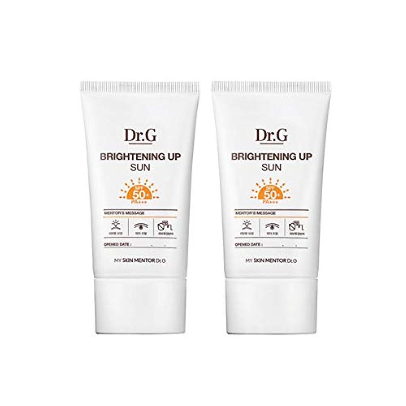 下位珍味コテージドクターGブライトニングアップサンSPF50+ PA+++50ml x2本セットサンクリーム、Dr.G Brightening Up Sun SPF50+ PA+++ 50ml x 2ea Set Sun Cream [...
