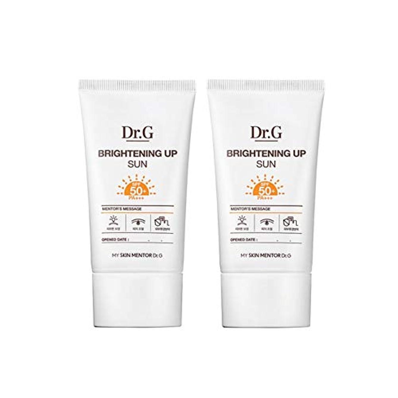 カウント突破口軍ドクターGブライトニングアップサンSPF50+ PA+++50ml x2本セットサンクリーム、Dr.G Brightening Up Sun SPF50+ PA+++ 50ml x 2ea Set Sun Cream [...