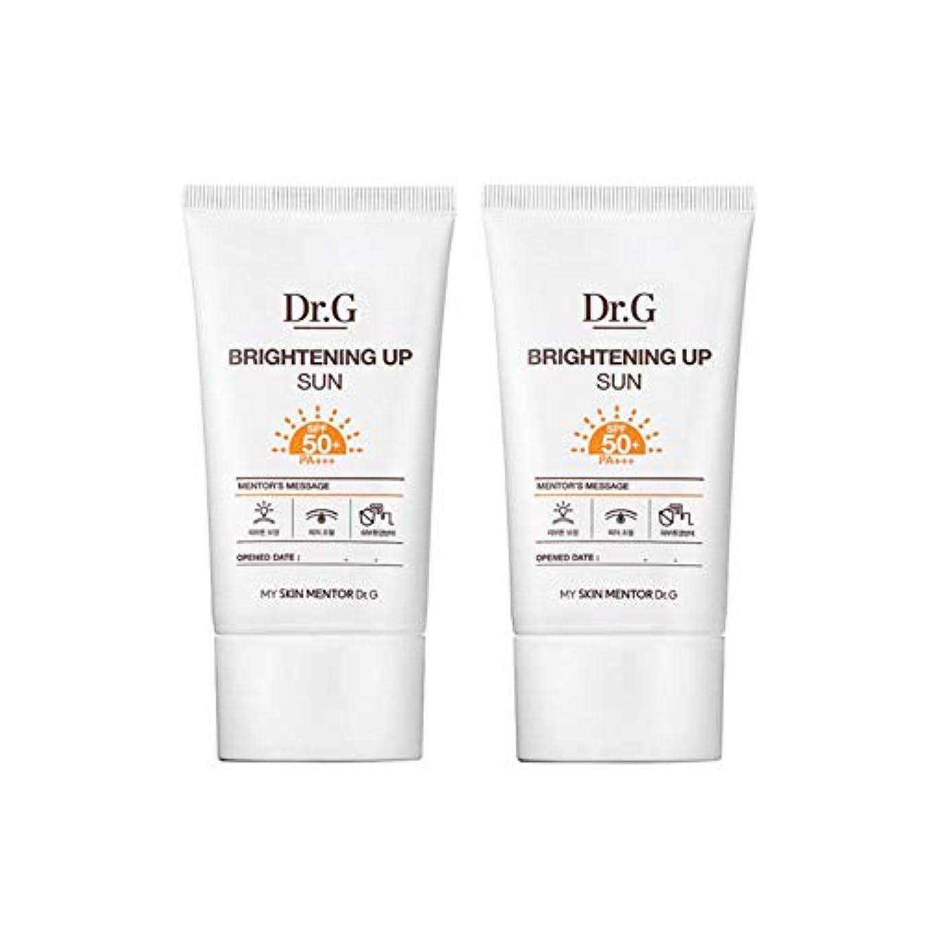 過度の軽く翻訳するドクターGブライトニングアップサンSPF50+ PA+++50ml x2本セットサンクリーム、Dr.G Brightening Up Sun SPF50+ PA+++ 50ml x 2ea Set Sun Cream [...