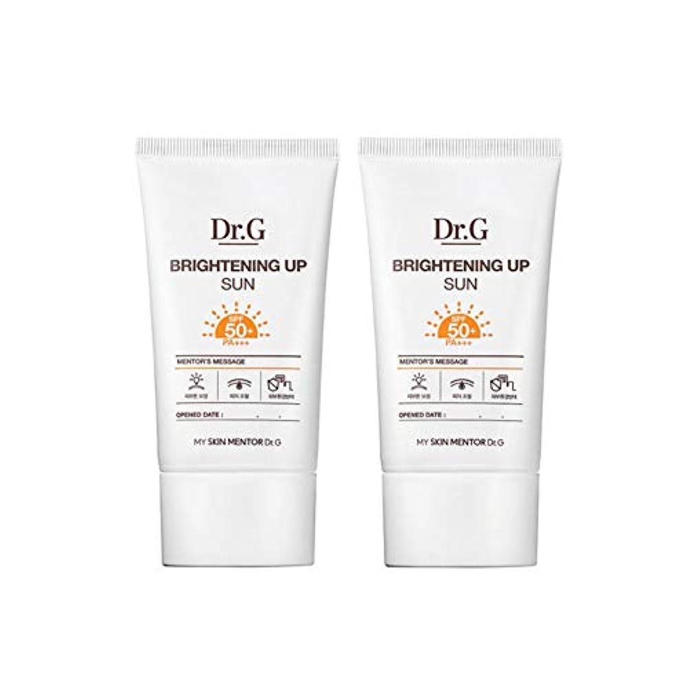 相続人突撃酸化物ドクターGブライトニングアップサンSPF50+ PA+++50ml x2本セットサンクリーム、Dr.G Brightening Up Sun SPF50+ PA+++ 50ml x 2ea Set Sun Cream [...
