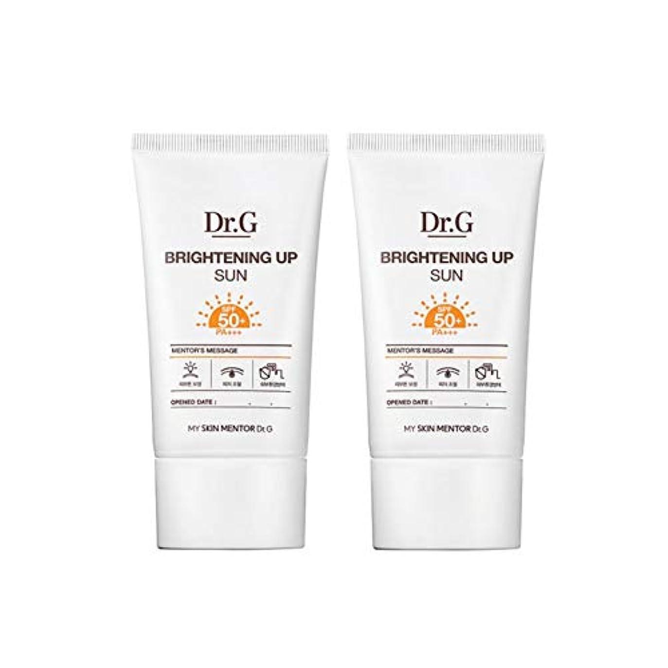 多年生スーツケース推進ドクターGブライトニングアップサンSPF50+ PA+++50ml x2本セットサンクリーム、Dr.G Brightening Up Sun SPF50+ PA+++ 50ml x 2ea Set Sun Cream [...