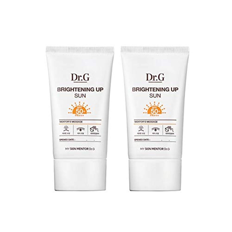ドクターGブライトニングアップサンSPF50+ PA+++50ml x2本セットサンクリーム、Dr.G Brightening Up Sun SPF50+ PA+++ 50ml x 2ea Set Sun Cream [...