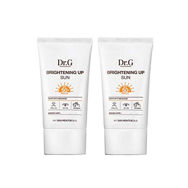 捧げる精神的にショッキングドクターGブライトニングアップサンSPF50+ PA+++50ml x2本セットサンクリーム、Dr.G Brightening Up Sun SPF50+ PA+++ 50ml x 2ea Set Sun Cream [...