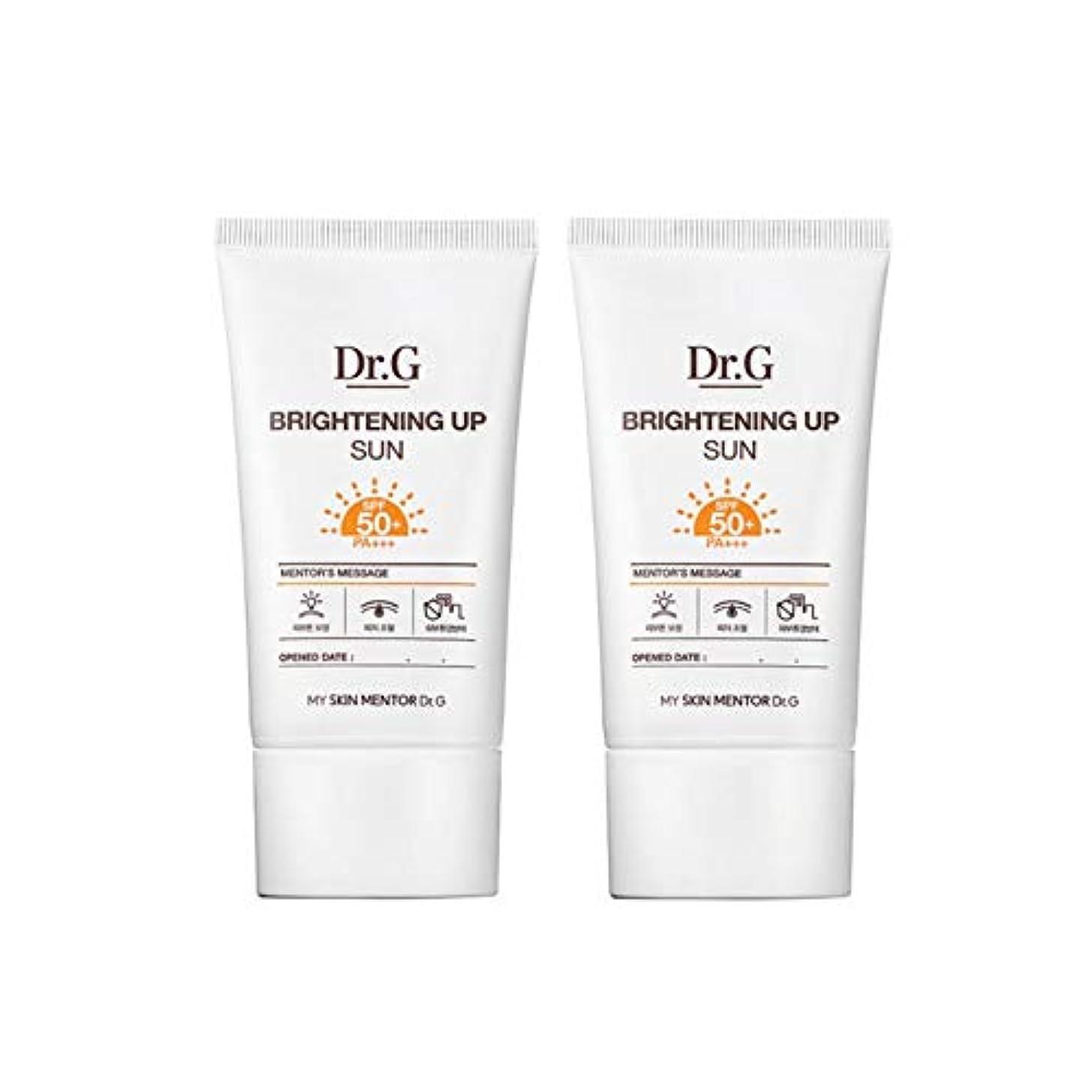 ユーザー浸食専門用語ドクターGブライトニングアップサンSPF50+ PA+++50ml x2本セットサンクリーム、Dr.G Brightening Up Sun SPF50+ PA+++ 50ml x 2ea Set Sun Cream [...