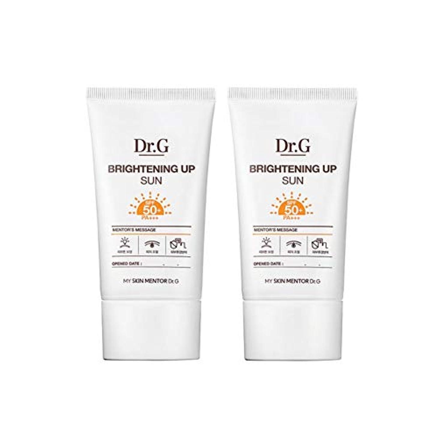 設計秘書道ドクターGブライトニングアップサンSPF50+ PA+++50ml x2本セットサンクリーム、Dr.G Brightening Up Sun SPF50+ PA+++ 50ml x 2ea Set Sun Cream [並行輸入品]