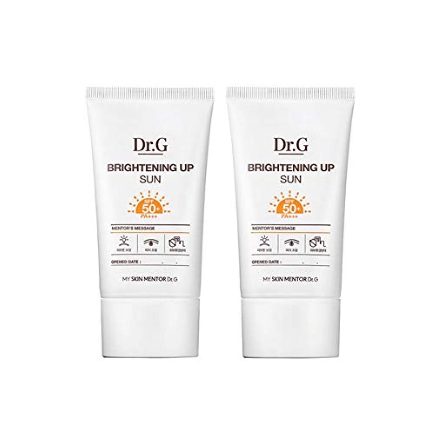 最後のアクセシブル生活ドクターGブライトニングアップサンSPF50+ PA+++50ml x2本セットサンクリーム、Dr.G Brightening Up Sun SPF50+ PA+++ 50ml x 2ea Set Sun Cream [...