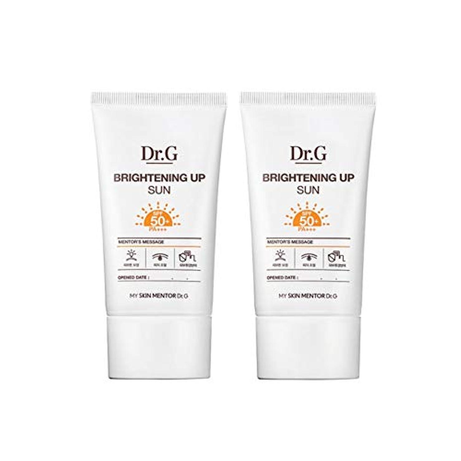 辞任する原油接続されたドクターGブライトニングアップサンSPF50+ PA+++50ml x2本セットサンクリーム、Dr.G Brightening Up Sun SPF50+ PA+++ 50ml x 2ea Set Sun Cream [...
