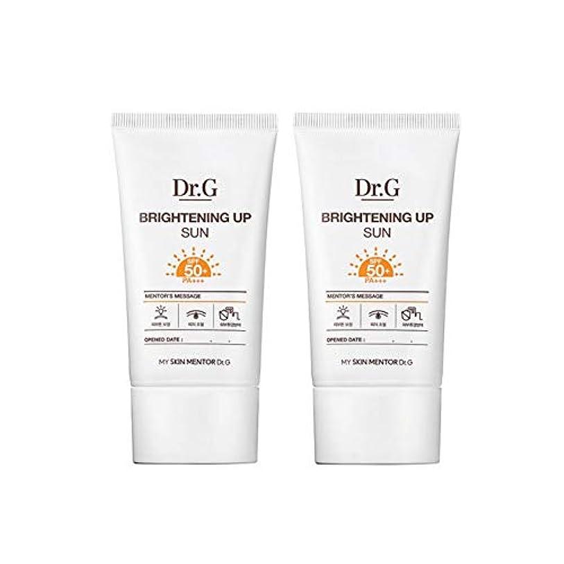 精通したくさびスリットドクターGブライトニングアップサンSPF50+ PA+++50ml x2本セットサンクリーム、Dr.G Brightening Up Sun SPF50+ PA+++ 50ml x 2ea Set Sun Cream [...